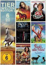 DOPPEL-DVD NEU/OVP - Tierwelten Edition - 6 Filme DVD Box