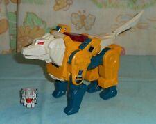 original G1 Transformers WEIRDWOLF NEAR COMPLETE w/ Headmaster Monzo +tail sword