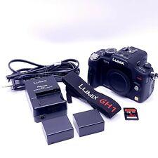 Panasonic LUMIX DMC-GH1 12.1MP Mirrorless MFT Digital Camera - (Body Only)