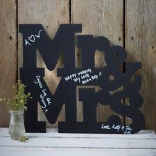 Große 'Mr & Mrs' Tafel Alternative zum Gästebuch Hochzeit Erinnerung Geschenk