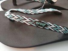 Reef Women's Flip Flops Summer Beach Pool Sandals Dark Brown/Black UK 5 - US 7