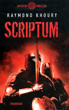 SCRIPTUM - Tempelritter Roman von Raymond Khoury - WELTBILD MYSTERY EDITION