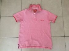 R.M.Williams    Classic fit    Polo Shirt     Red      Size S