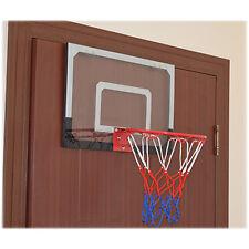 Indoor Mini Basketball Hoop Backboard System Home Office Room Door w/ Ball &Pump