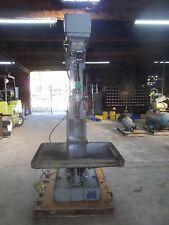 Allen Column Drill Press All Cast Iron Table Variable Speed Sensitive