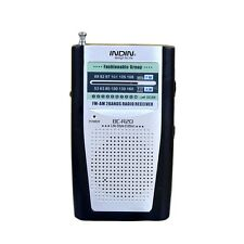 Universal Portable AM/FM Receiver Radio Built in Speaker Pocket BC-R20 HQ