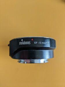 METABONES MARK 4 MKIV MK4 IV - CANON to SONY E-MOUNT Autofocus OIS Lens Adapter