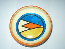 Clarice CLIFF bizzarra ART DECO pin piatto Newport Pottery