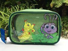"""Disney Pixar Loungefly """"A Bug's Life"""" Heimlich & Flik Cosmetic Bag Set Purse Nwt"""