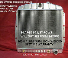 1955 1956 1957 1958 1959 CHEVROLET/GMC PICKUP TRUCK ALUMINUM RADIATOR