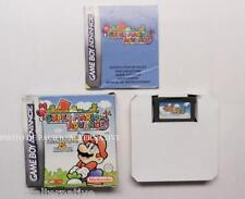 COMPLET jeu SUPER MARIO ADVANCE BROS 1 et 2 nintendo game boy GBA boite notice