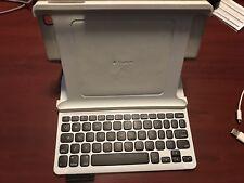 Logitech - Keyboard Folio Case for Apple® iPad® 2, iPad 3rd Generation and iPad