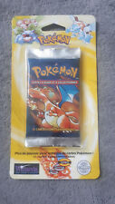 BOOSTER POKEMON - SET DE BASE - NEUF FR SOUS BLISTER - DRACAUFEU