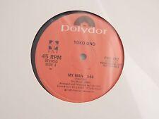 "Yoko Ono ""My Man"" 12"" NEW PROMO! NEVER PLAYED! ONLY NEW COPY ON eBAY!!"