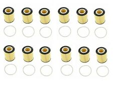 12 Oil Filters Mahle OX433D For: Land Rover LR2 08-12 Volvo S80 XC70 V70 XC90