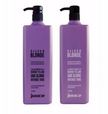 Juuce Silver Blonde Shampoo and Conditioner 1lt Duo