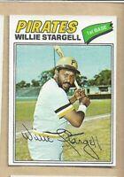 1977 TOPPS BB #460 WILLIE STARGELL/PIRATES EX/MT
