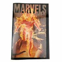 "Marvels 1994 #1 Book 1 ""A Time of Marvels"" First Printing Kurt Busiek, Alex Ross"