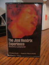 THE JIMI HENDRIX EXPERIENCE - ELECTRIC LADYLAND  Cassette 1968 EUC