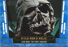 Star Wars 40th Anniversary Blue Base Card #57 Kylo Ren's Relic