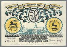Notgeld - Rossla - Gemeinde Rossla - 50 Pfennig - 1921 - Bild 3