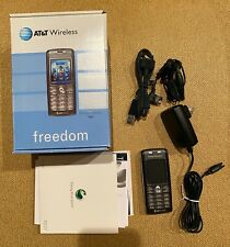 Sony Ericsson T637 Cell Phone Gsm Camera Mp3 Mp4 Player. Works!