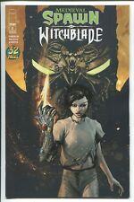 MEDIEVAL SPAWN and WITCHBLADE #2 - BRIAN HABERLIN ART & COVER  IMAGE COMICS/2018