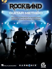 RockBand Guitar Method - Learn How to Play Electric or Acoustic - FREE Ship USA