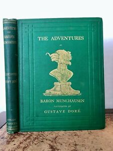 1865 The Adventures of Baron Muchausen-New Edition- 30 Plates by Gustave Dore