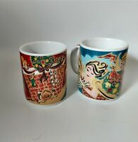 2 Home For The Holidays Mary Grave Starbucks Coffee Mug Christmas Holiday Peace
