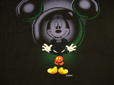 Vintage Walt Disney Mickey Mouse Surprised Reflection Fun Silly T Shirt L