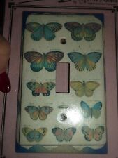 New Butterfly Light wall Switch Plate Cover single toggle Art Plates Butterflies