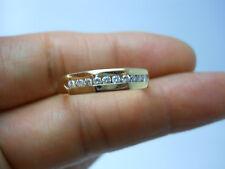STUNNING 14K YG UNISEX DIAMOND BAND RING SIZE 10.25 .25 CARAT TW  B34454