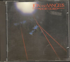 JON & and VANGELIS Short Stories CD 1st Print 10 track 1980-1983 Related YES