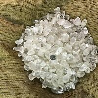 1000 Carat Lots of Polished Tumbled Clear Quartz + FREE Faceted Gemstone