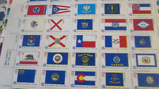 US Postage 500x 13c Bicentennial State Flag Stamps in 10x sheets #1633-82 MNH