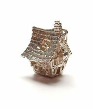 Rare Vintage 925 Sterling Silver CHIM HAUNTED HOUSE OPENS TO GHOST Charm 5.9g