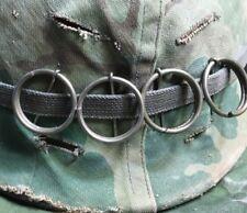 4 M2 M62 M67 Smoke Pull Rings for US Army USMC Vietnam War Helmet/ BOONIE HAT