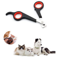 Portable Pet Dog Cat Rabbit Guinea Pig Claw Nail Clippers Trimmers Scissors