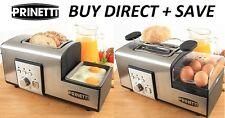 Egg Poacher Egg Toaster 2 Slice Stainless Steel Cooker, Muffin Warmer Breakfast