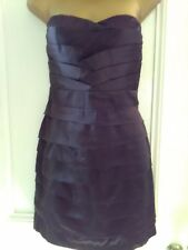 Ladies,size L(12-14) TFNC.Lovely black,satin,stretch bustier,layered party dress