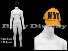 Fiberglass Male Invisible Ghost Mannequin Dress Form Display #MZ-GH4