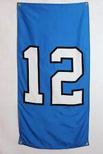 Seattle Seahawks 12th Man Flag Banner~Legion of Boom  Indoor/Outdoor
