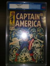 Captain America 107 CGC 9.0 High Grade Silver age old label!! First Dr. Faustus