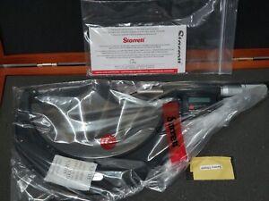 "Starrett Digital Electronic Outside Micrometer 5-6"" / 0.0001"" 127-152mm"