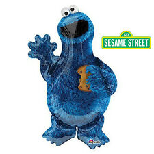 Sesame Street Party Supplies COOKIE MONSTER Super Shape Foil Balloon