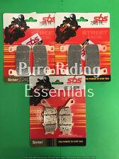 SBS 734 HS 657 LS HONDA CBR 600 RR 2003 - 2004 FRONT + REAR BRAKE PADS