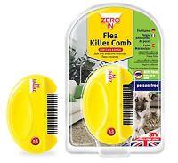 ZeroIn Flea Killer Comb Dogs Cats Humane Poison Free ZER023