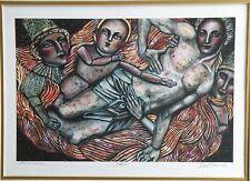 8 CHRISTINA DE MUSEE LTD ED SERIGRAPHS, 7 HAND-TITLED, -#'D & -SIGNED, 1 FRAMED