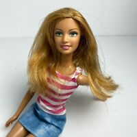 Barbie Girl Next Door Summer Doll by Mattel Fully Dressed Strawberry Blonde